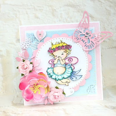 cardmaking for a little girl