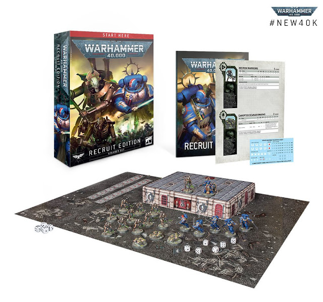 Edición Recluta Warhammer 40,000