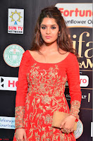 Ritika in sindoori Red Dress at IIFA Utsavam Awards 2017  Day 2  Exclusive 14.JPG