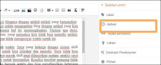 Sebagai seorang blogger yang ingin selalu mengisi blognya dengan artikel Cara blogger agar bisa update artikel secara rutin.