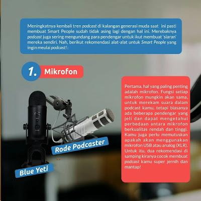 rekomendasi mikrofon podcast terbaik
