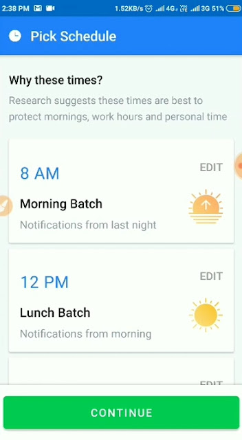 Daywise android