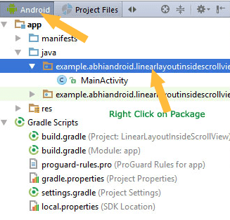 How to Create User Interface in Android studio