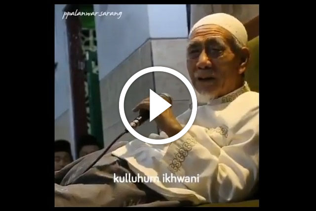 "Tausiyah KH Maimoen Zubair: Di Alam Kubur Tak Ditanya NU Atau Bukan, Tapi ""Wa Man Ikhwanuka"""