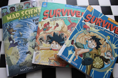Blog post by Janiel Wagstaff:  The Case for Graphic Novels