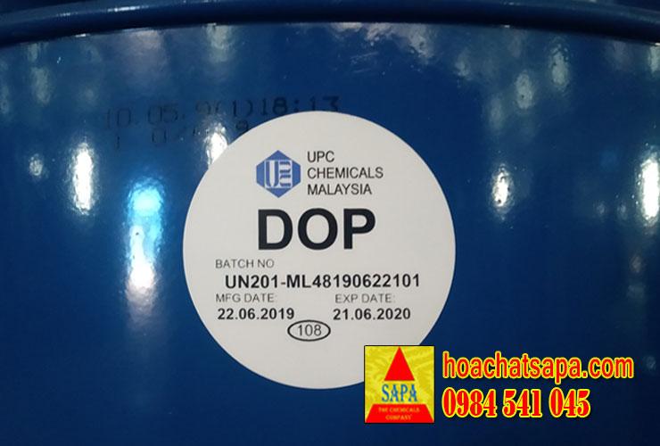 Dioctyl Phthalate (D.O.P) - Thái Lan - Mã Lai - Indo - Bồn