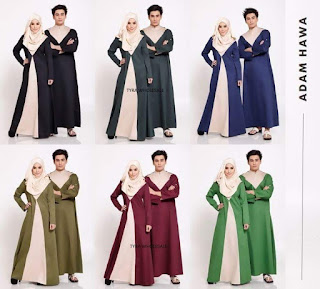 ADAM & HAWA COUPLES JUBAH SOLD OUT