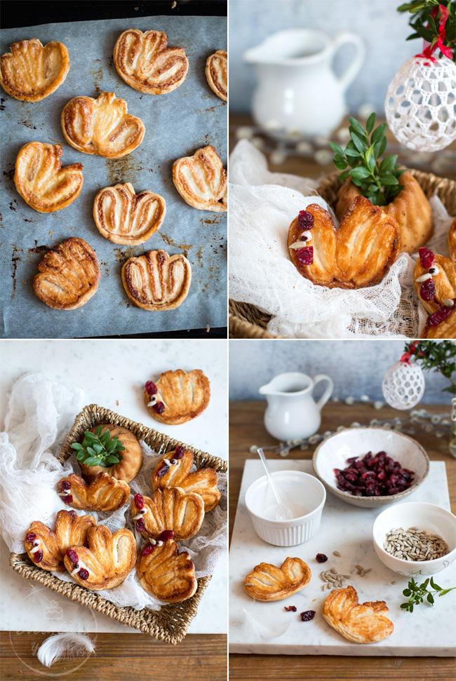 wielkanocne ciastka francuskie kurki