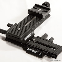 Fotomate LP-01 Geared Macro Focusing Rails Review