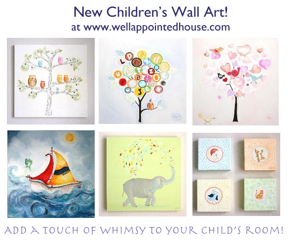 New Children\'s Wall Art & Sale! | The Well Appointed House Blog ...