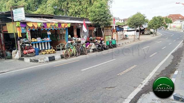 Tanah Luas tepi jalan Raya di Kotagede