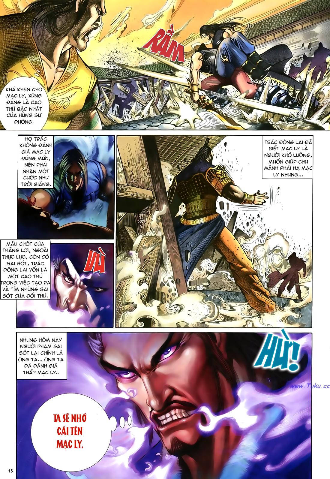 Anh hùng vô lệ Chap 23 trang 16