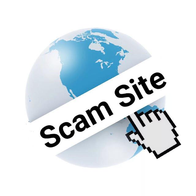 Scam websites list