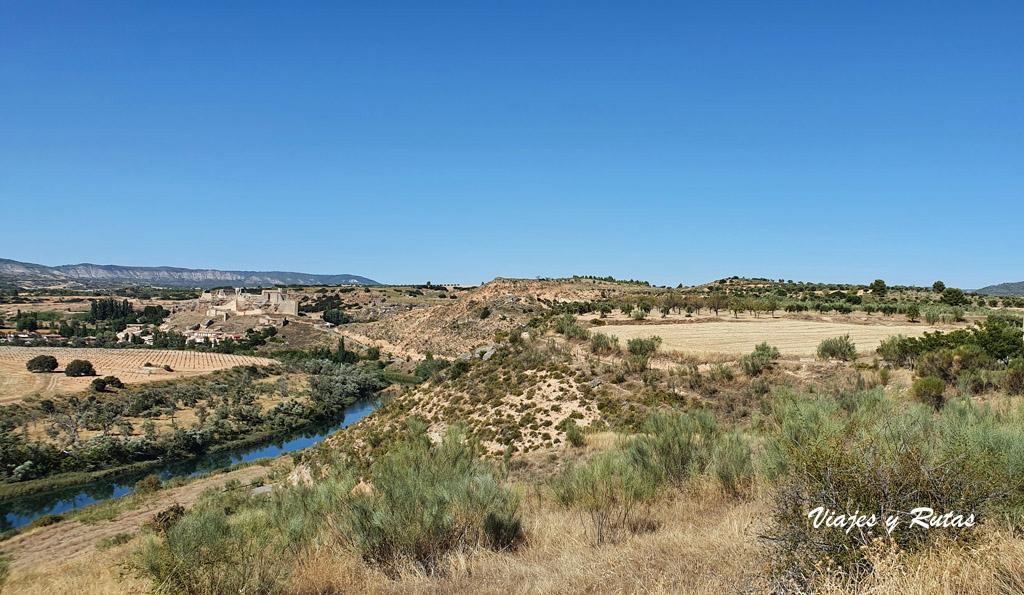 Río Tajo a su paso por Zorita de los Canes