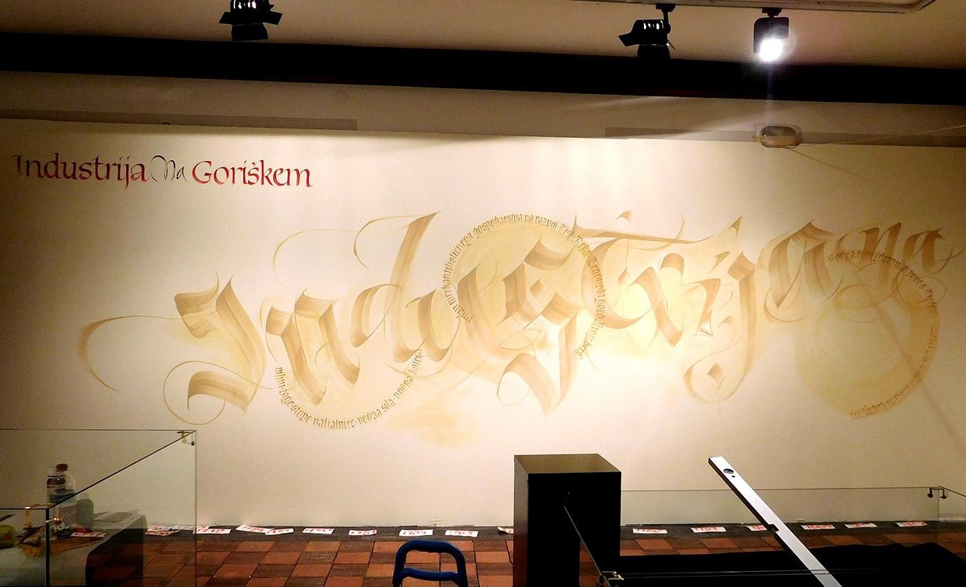 Calligraphy by Loredana Zega : WALLS