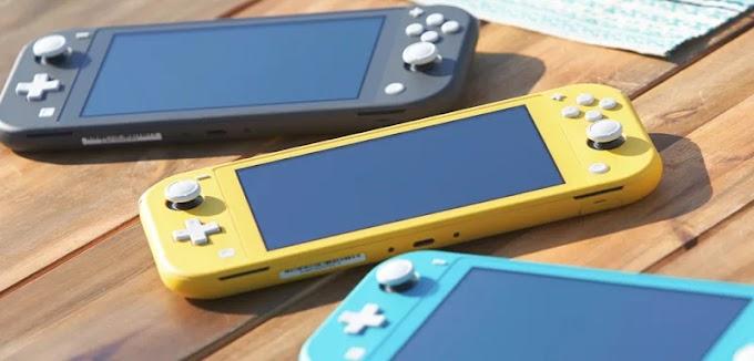 Ganhe um Nintendo Switch Lite