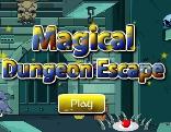 GenieFunGames Magical Dungeon Escape Walkthrough