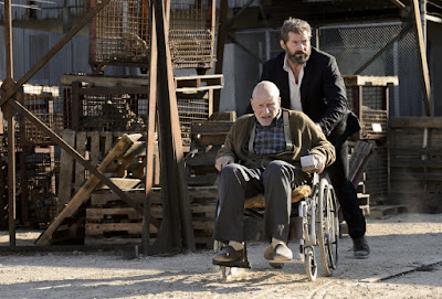 Logan Movie Patrick Stewart and Hugh Jackman (30)