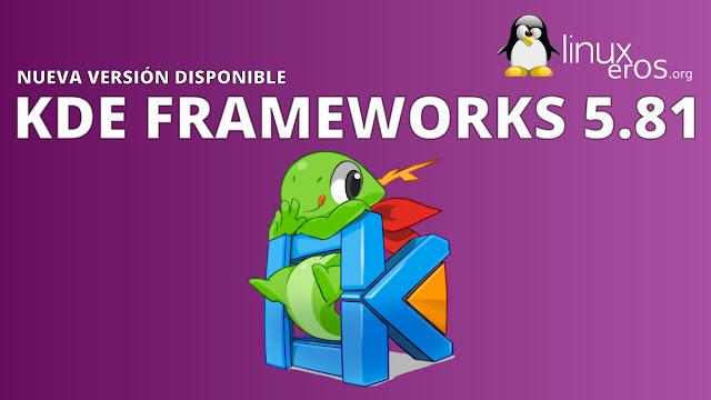 KDE Frameworks 5.81, con KHamburgerMenu y varias mejoras