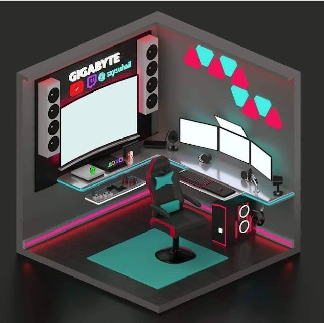 Konsep Desain Ruang Komputer Keren Untuk Bekerja Dari Rumah