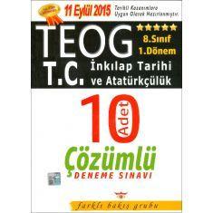 Farklı Bakış 8.Sınıf TEOG T.C. İnkılap Tarihi ve Atatürkçülük 1.Dönem Deneme Sınavı (2016)