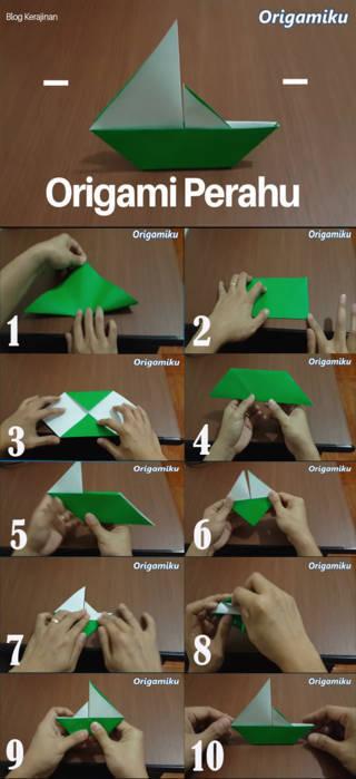 origami sederhana dan mudah