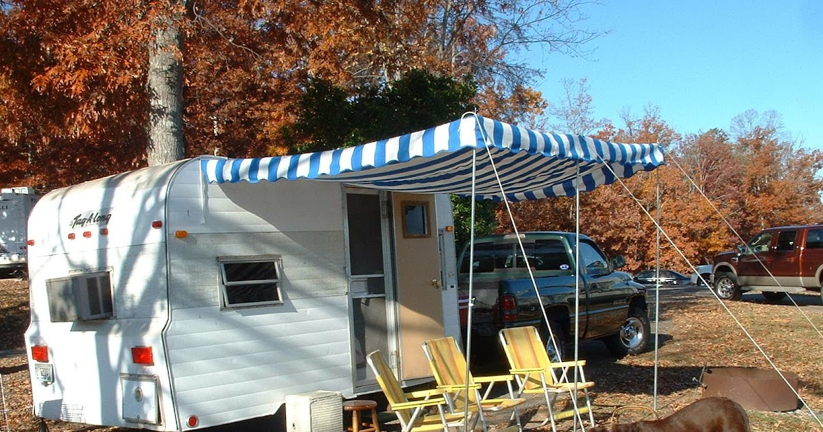 Vintage Awnings How Many Vintage Trailer Awnings Have You