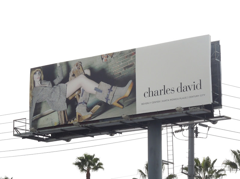 Charles David fashion billboard