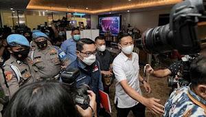 Terkait Kerumunan Massa di Megamendung, Ridwan Kamil Penuhi Panggilan Bareskrim Polri