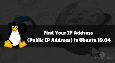 How to Find Your Public IP Address via Terminal on Ubuntu 18 04 LTS Using Kali, ubuntu,how to,how to configure static ip address on ubuntu 16 04 lts using virtualbox,how to configure static ip address on ubuntu,how to set ip address in ubuntu 16.04,how to configure static ip address ubuntu 16.04,how to setup static ip address ubuntu 16.04,how to configure a static ip address in ubuntu 18.04 server,how to install mysql on ubuntu 18.04