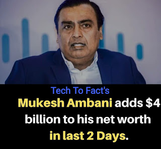 What is the monthly income of Mukesh Ambani?