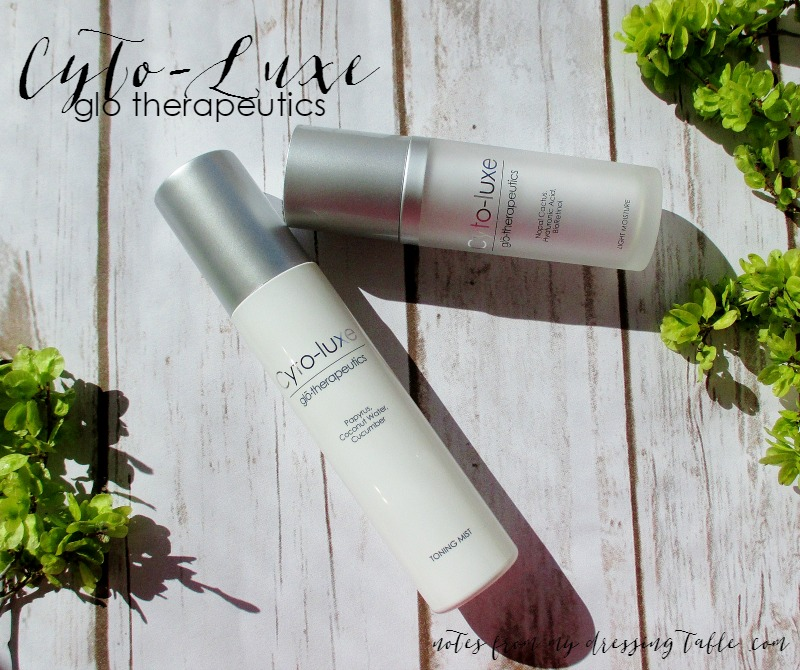 Cyto-Luxe by Glo Therapeutics | My Notes-Skincare-Review-notesfrommydressingtable.com