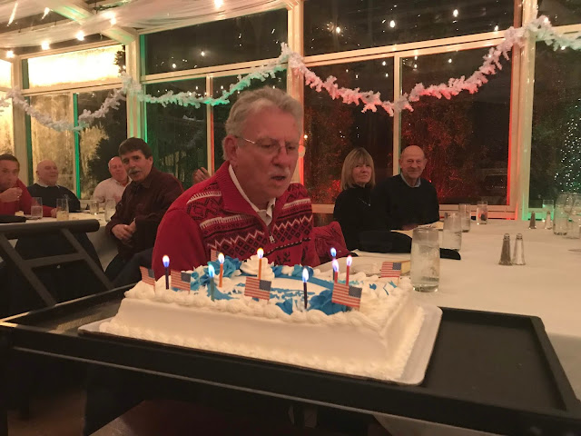 AUX Paul Harren celebrated his 80th birthday with Flotilla 16-7. His wife Gail arranged to have cake so that our flotilla could celebrate. Happy Birthday Paul!