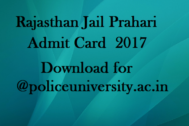 rajasthan-jail-prahari-admit-card-2017