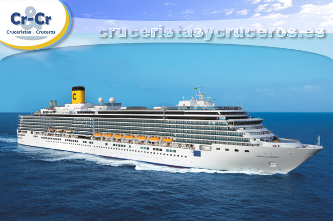 ► Costa Luminosa es, un año más, el buque elegido para la Vuelta al Mundo