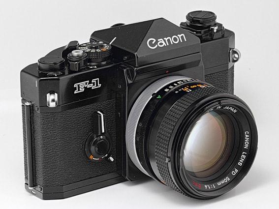 Lens Canon FD 50f1.4 ssc dùng cho nex
