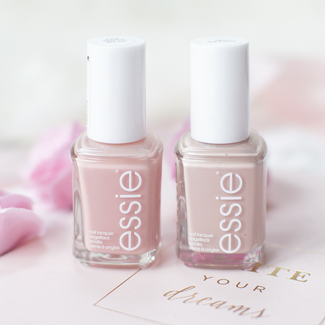 Essie Not Just A Pretty Face and Spin the Bottle
