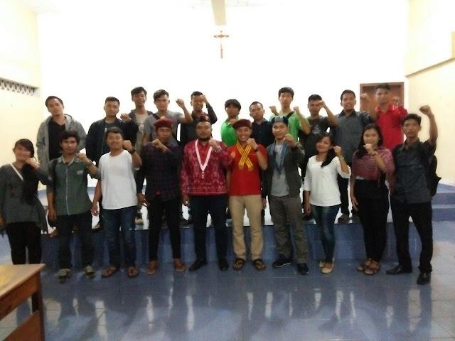 """Cipayung Plus Pematangsiantar Mengadakan Diskusi   """"Pemuda dan Mahasiswa untuk Solidaritas kebangsaan"""""""