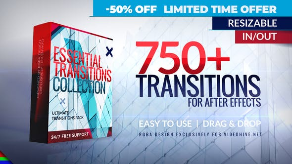 """Chia sẻ bộ """"Ultimate Transitions Pack 