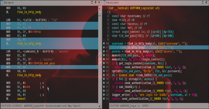 Dsync : IDAPython Plugin That Synchronizes Disassembler & Decompiler Views