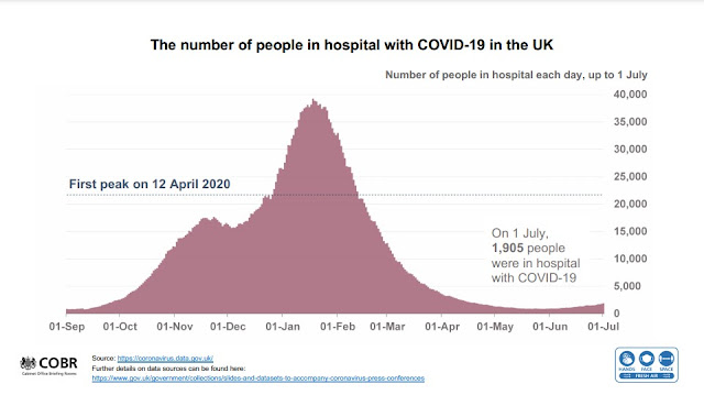 050721 UK Gov slides hospitalisations in England double hill followed by flat line