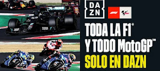 DAZN MotoGP Y F1