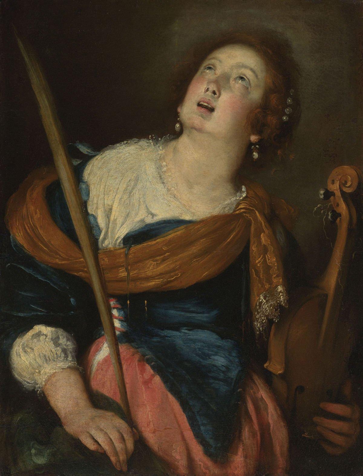 ernardo Strozzi Saint Cecilia
