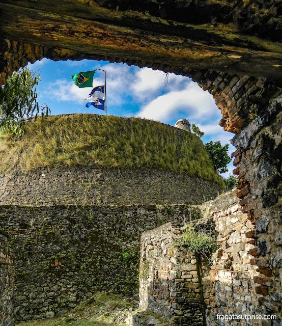 Bastião principal do Forte dos Remédios
