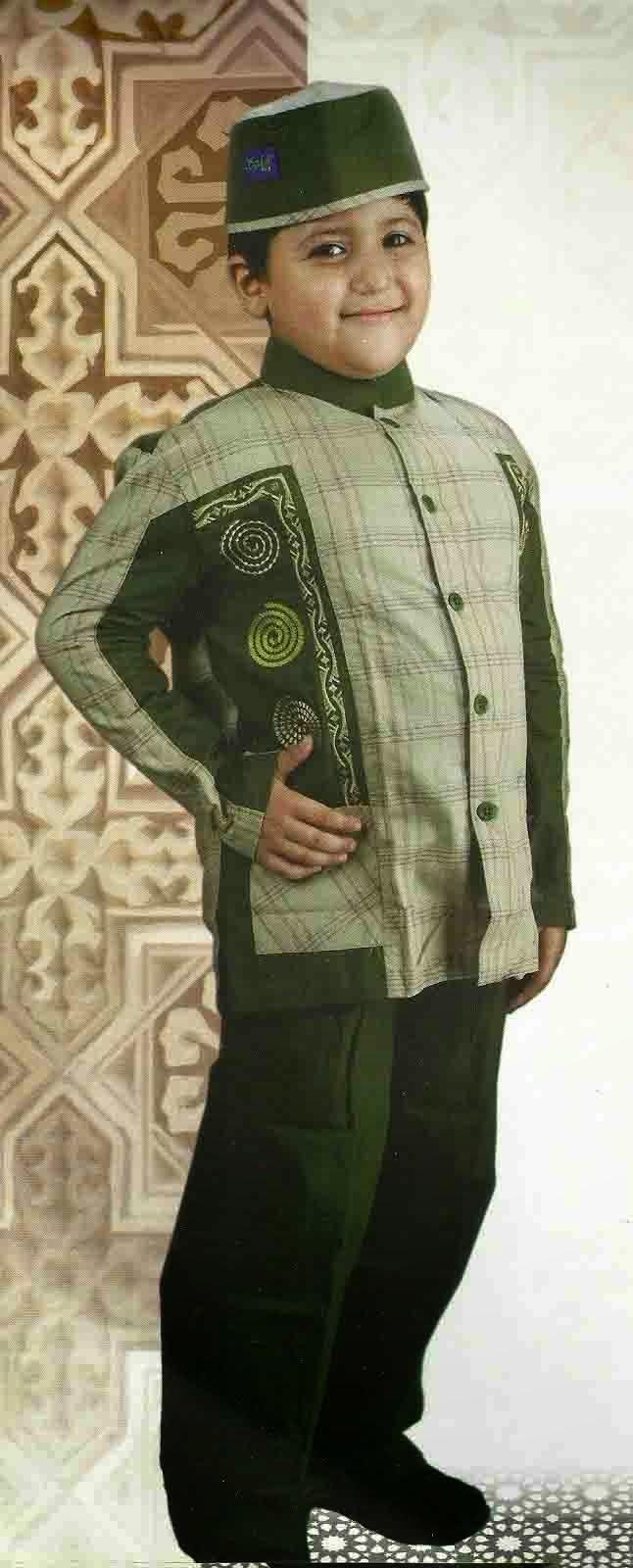 ModelBaju24 Model Baju Batik Anak Modern