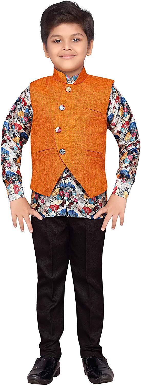 AJ Dezines Kids Suit Set for Boys