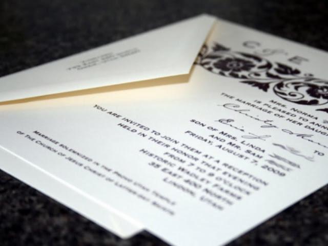 Contoh Surat Undangan Cantik untuk Pernikahan