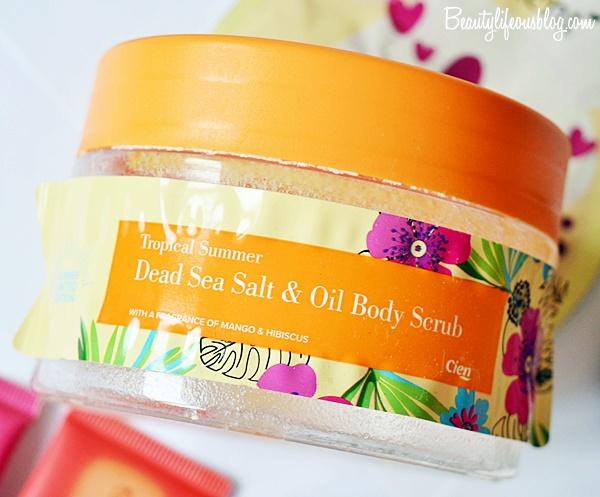 Lidl Schweiz - Dead Sea Salt & Oil Body Scrub