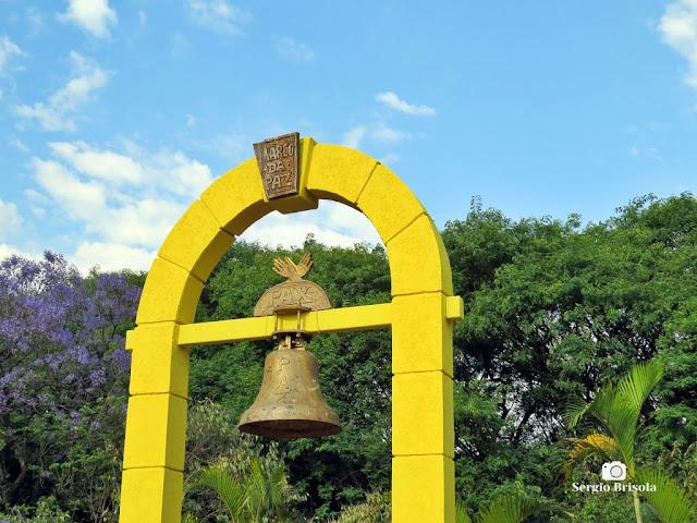 Close-up do Marco da Paz - Parque da Juventude - Santana - São Paulo