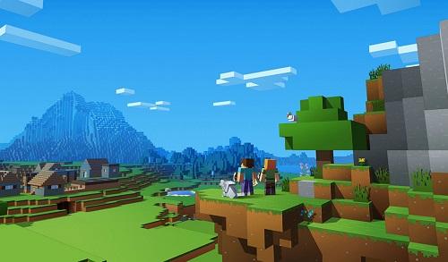 Có nhiều loại dụng cụ lao động khác nhau trong Minecraft